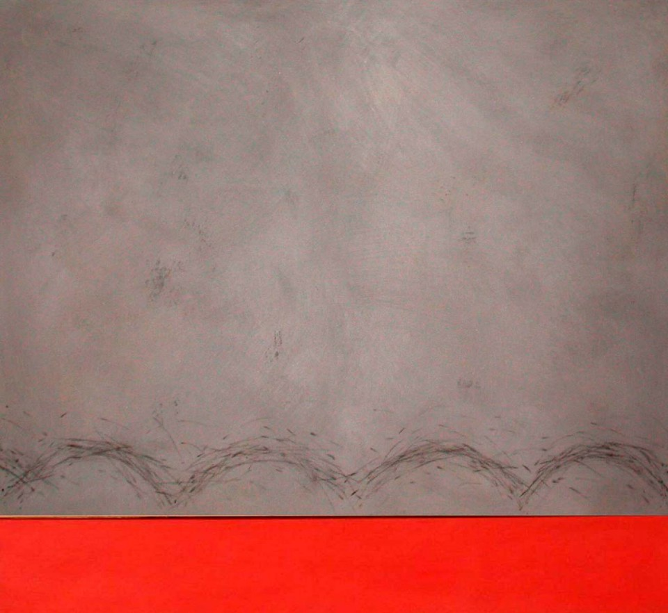 Horizonte gris y rojo (2002)