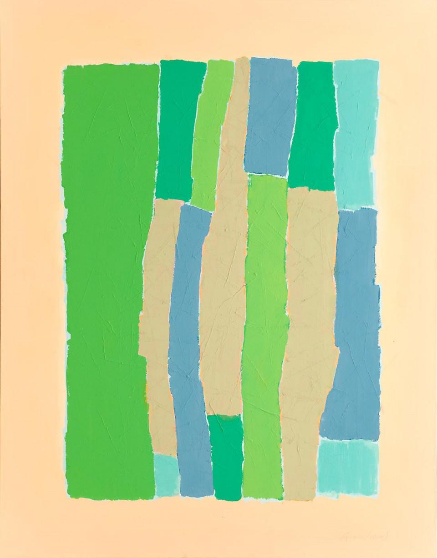 Barras 1 (2012)  146 x 114 cm.