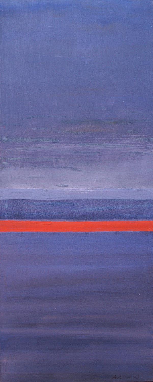 Cuadro 1 (2006) Acrílico sobre tela, (188 x 73 cm.) Serie INFINITIES