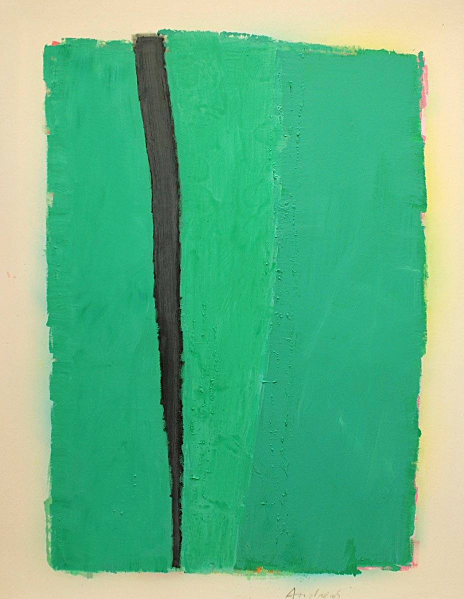 Cuadro 7 (2010) Acrílico sobre tela y caseína.