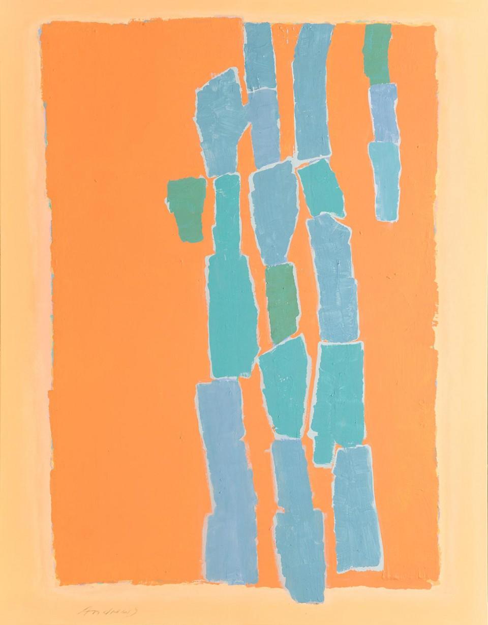 Barras 2 (2012)  146 x 114 cm.