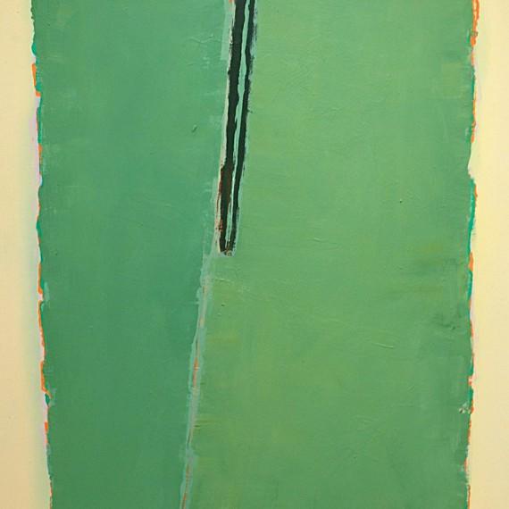 Cuadro 1 (2010) Acrílico sobre tela y caseína.