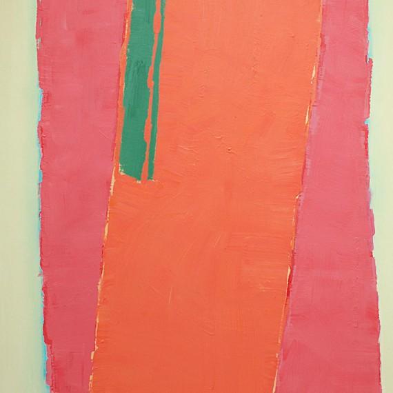 Cuadro 2 (2010) Acrílico sobre tela y caseína.