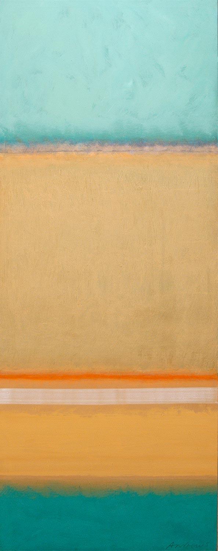 Cuadro 3 (2006) Acrílico sobre tela, (188 x 73 cm.) Serie INFINITIES