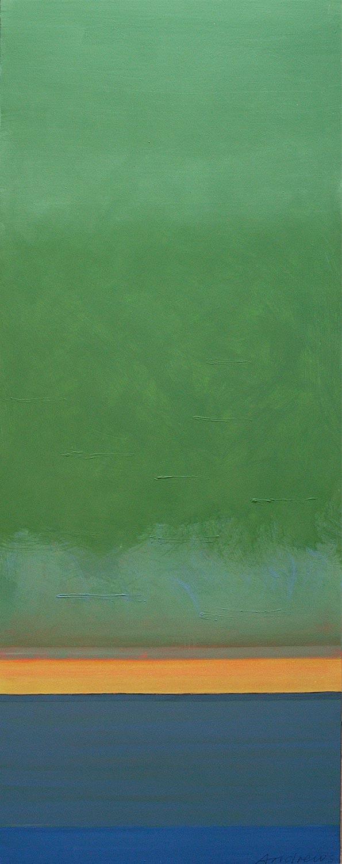 Cuadro 4 (2006) Acrílico sobre tela, (188 x 73 cm.) Serie INFINITIES