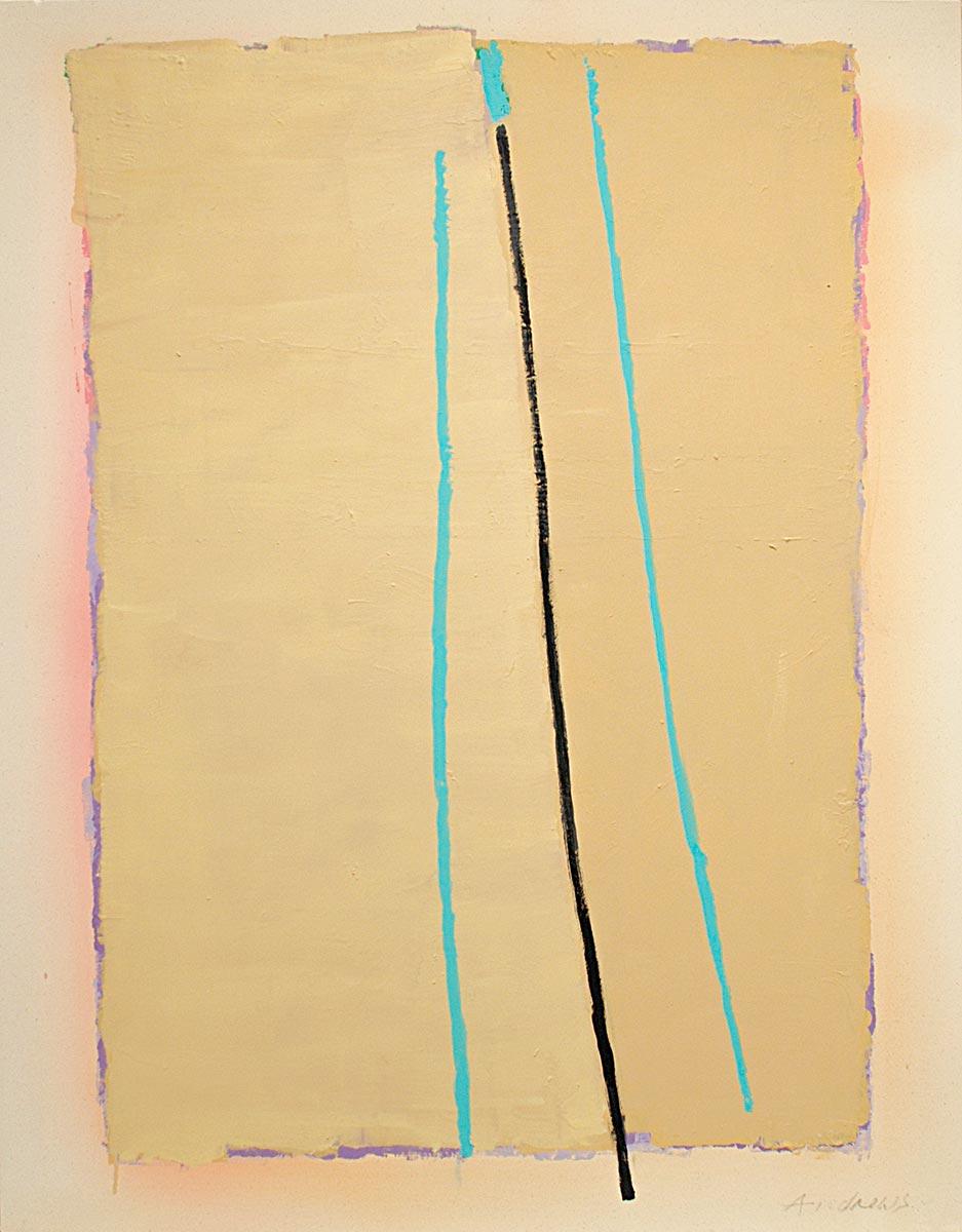 Cuadro 5 (2010) Acrílico sobre tela y caseína.