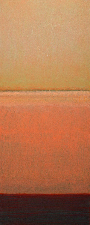 Cuadro 6 (2006) Acrílico sobre tela, (188 x 73 cm.) Serie INFINITIES