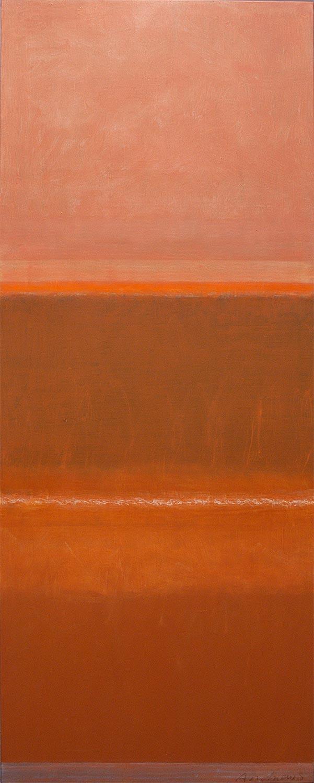 Cuadro 7 (2006) Acrílico sobre tela, (188 x 73 cm.) Serie INFINITIES