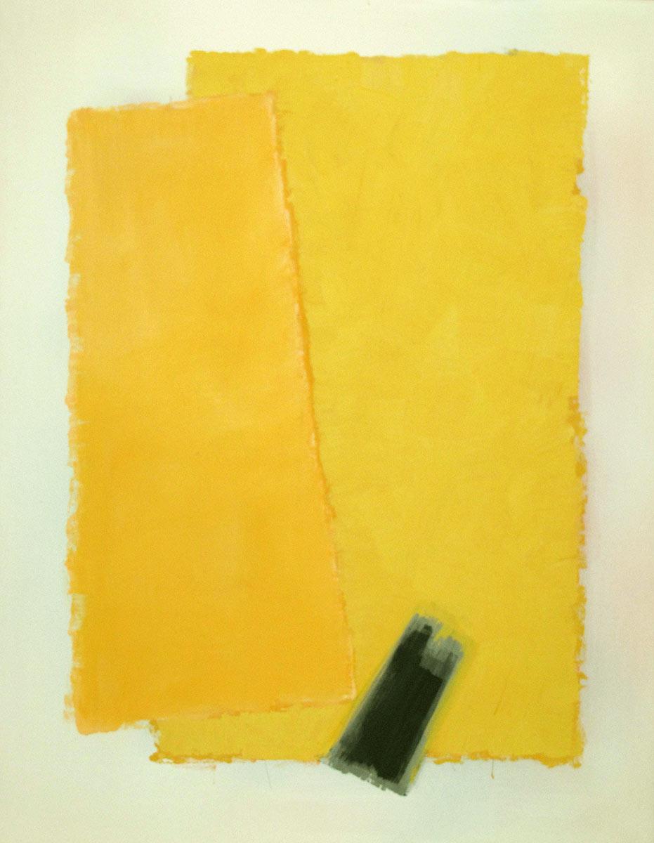 Cuadro 9 (2010) Acrílico sobre tela y caseína.