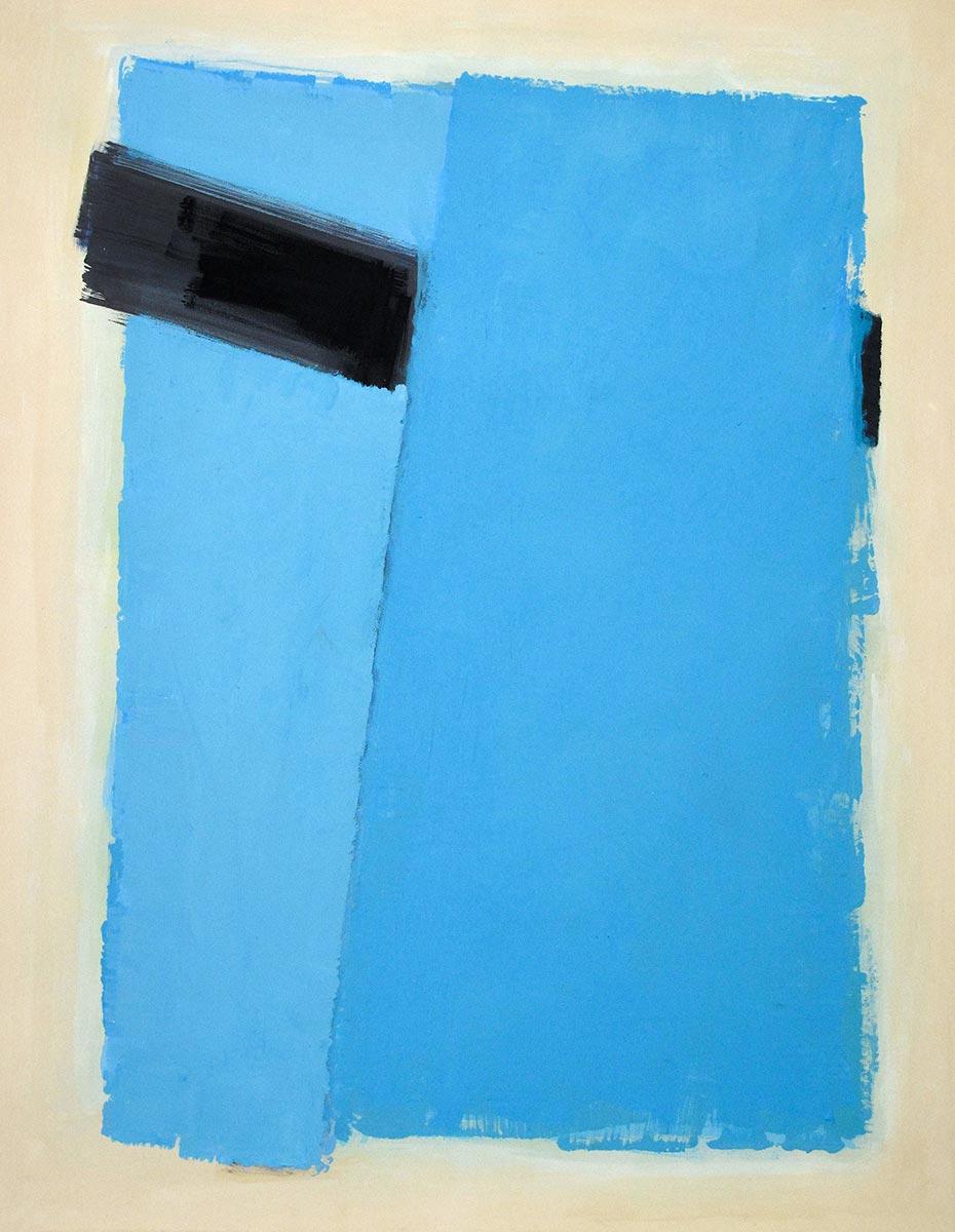Cuadro 10 (2010) Acrílico sobre tela y caseína.