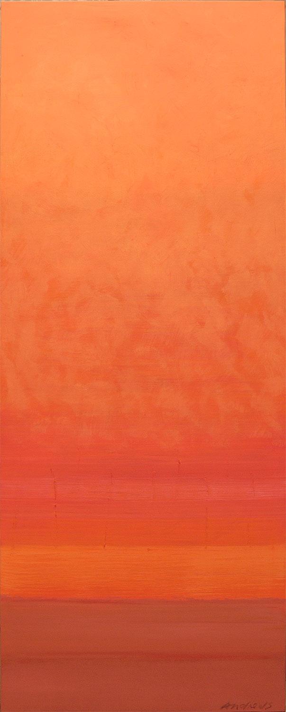 Cuadro 8 (2006) Acrílico sobre tela, (188 x 73 cm.) Serie INFINITIES