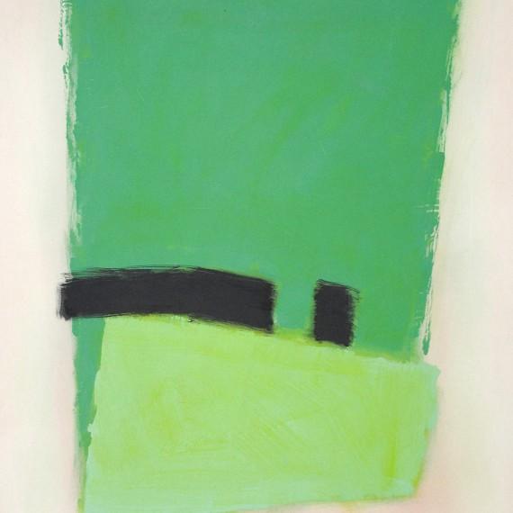Cuadro 11 (2010) Acrílico sobre tela y caseína.