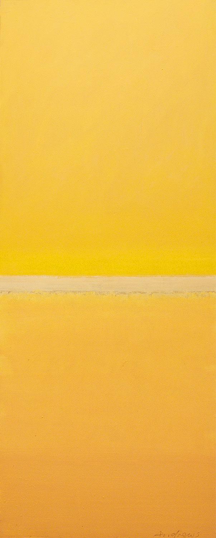 Cuadro 10 (2006) Acrílico sobre tela, (188 x 73 cm.) Serie INFINITIES