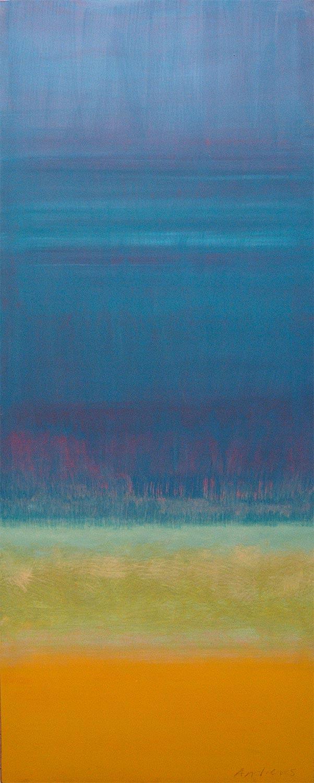 Cuadro 13 (2006) Acrílico sobre tela, (188 x 73 cm.) Serie INFINITIES