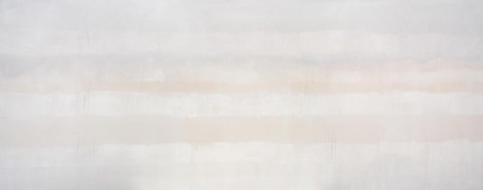 Cuadro 18 - 2005 Acrílico y carboncillo sobre tela y caseína. JARDÍN DE LOS FRAILES