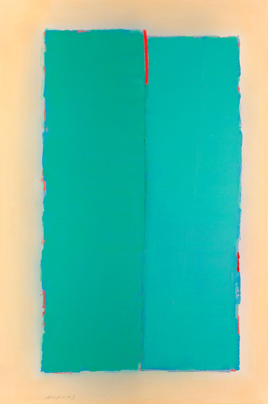 Cuadro 7 (2011) 195 x 130 cm.