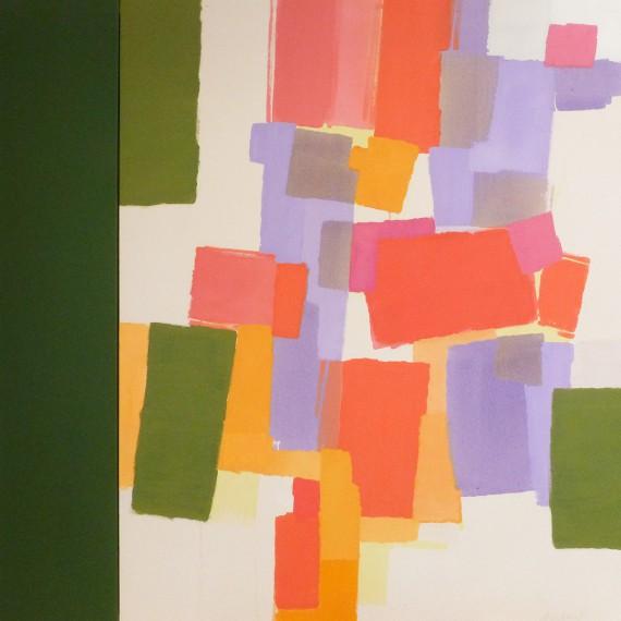 Mistletoe (2015)  146x114+27 cm.