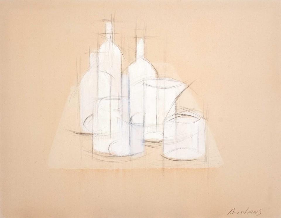 Bodegón Blanco (2012)  114 x 146 cm
