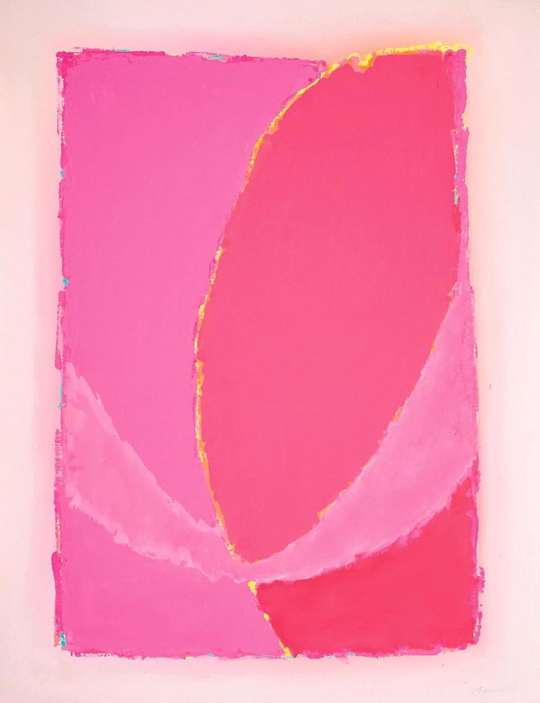 Cosmic Energy (2012)  146 x 114 cm.
