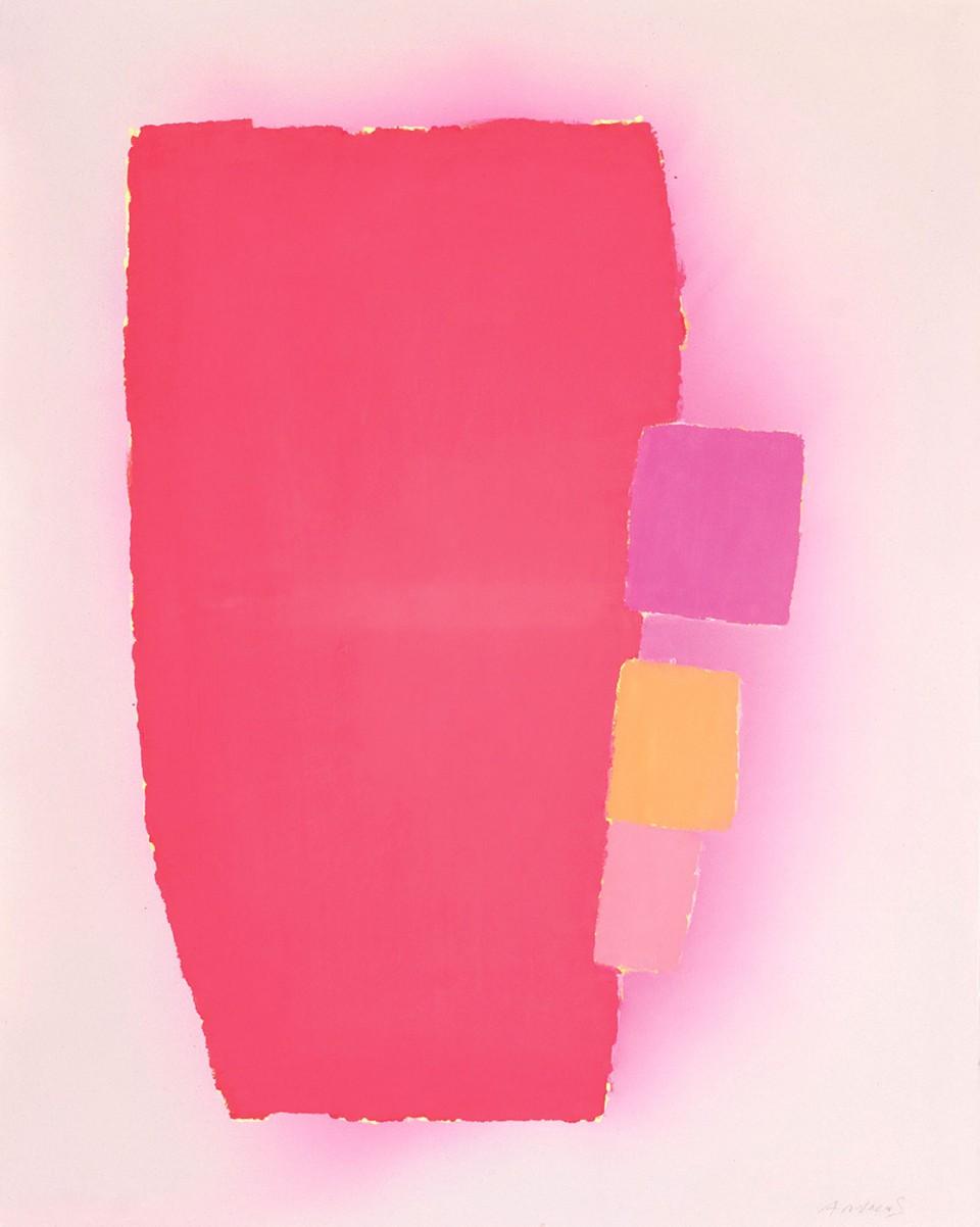 On the edge (2012) 146 x 116 cm.