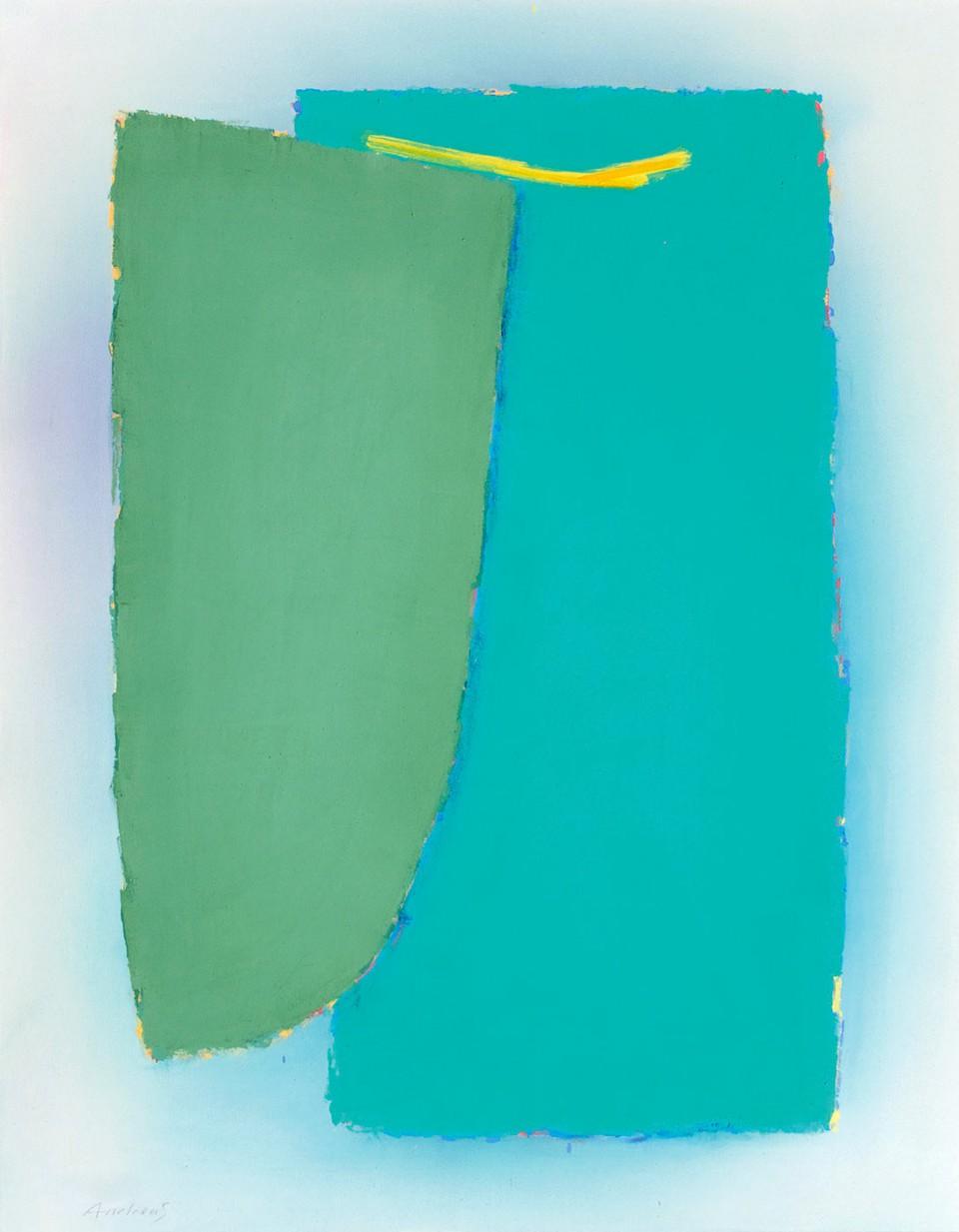 Yellow Branch (2012)  146 x 114 cm.